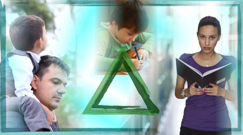 A szülő – gyermek – pedagógus háromszög