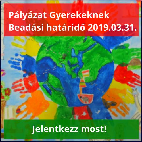 Gyermek Pályázat 2019.