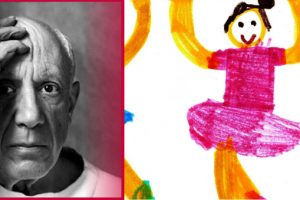 Pablo Picasso a nevelésről