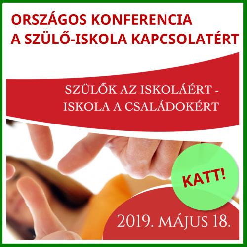 Országos Konferencia az Iskola és a Családok Kapcsolatáért