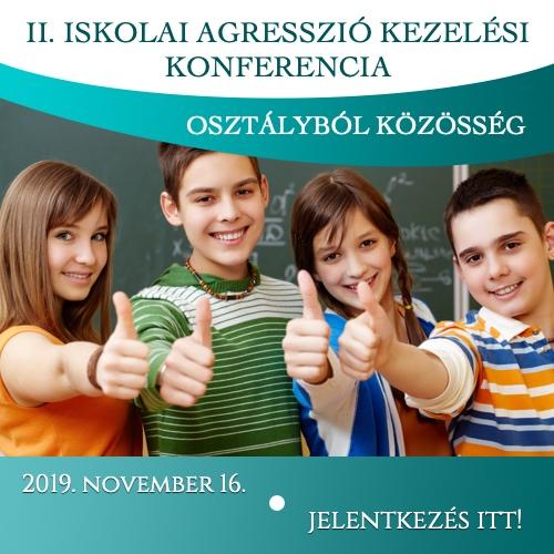 Iskolai Agressziókezelési Pedagógus Konferencia - Virágozz és Prosperálj Alapítvány