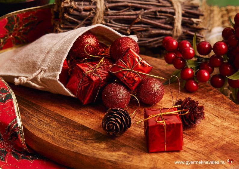 Karácsonyi ajándékok kézzel készítve - gyermeknevelés
