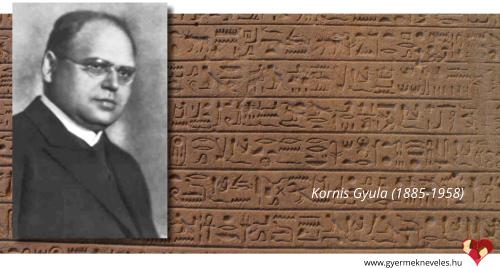 Kornis Gyula a nevelésről