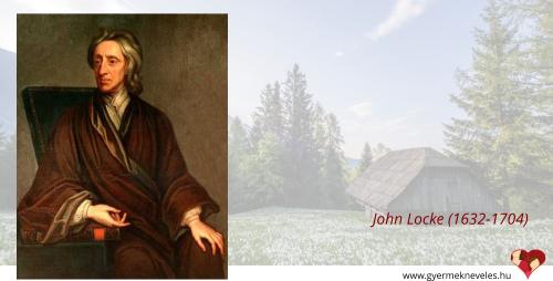 John Locke a nevelésről, személyes példamutatásról