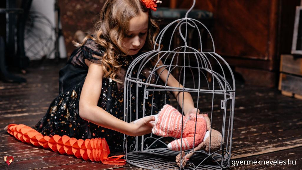 A gyerek büntetése